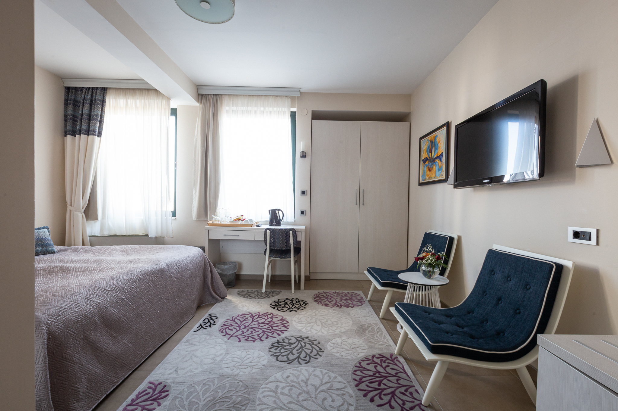 3rd Floor Double Room French Bed