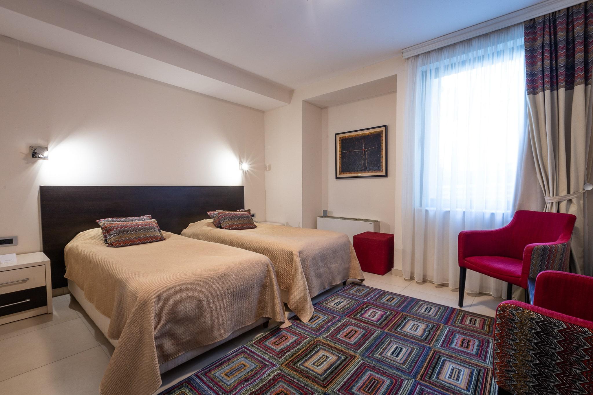 1st Floor – Double Room – Separate Beds