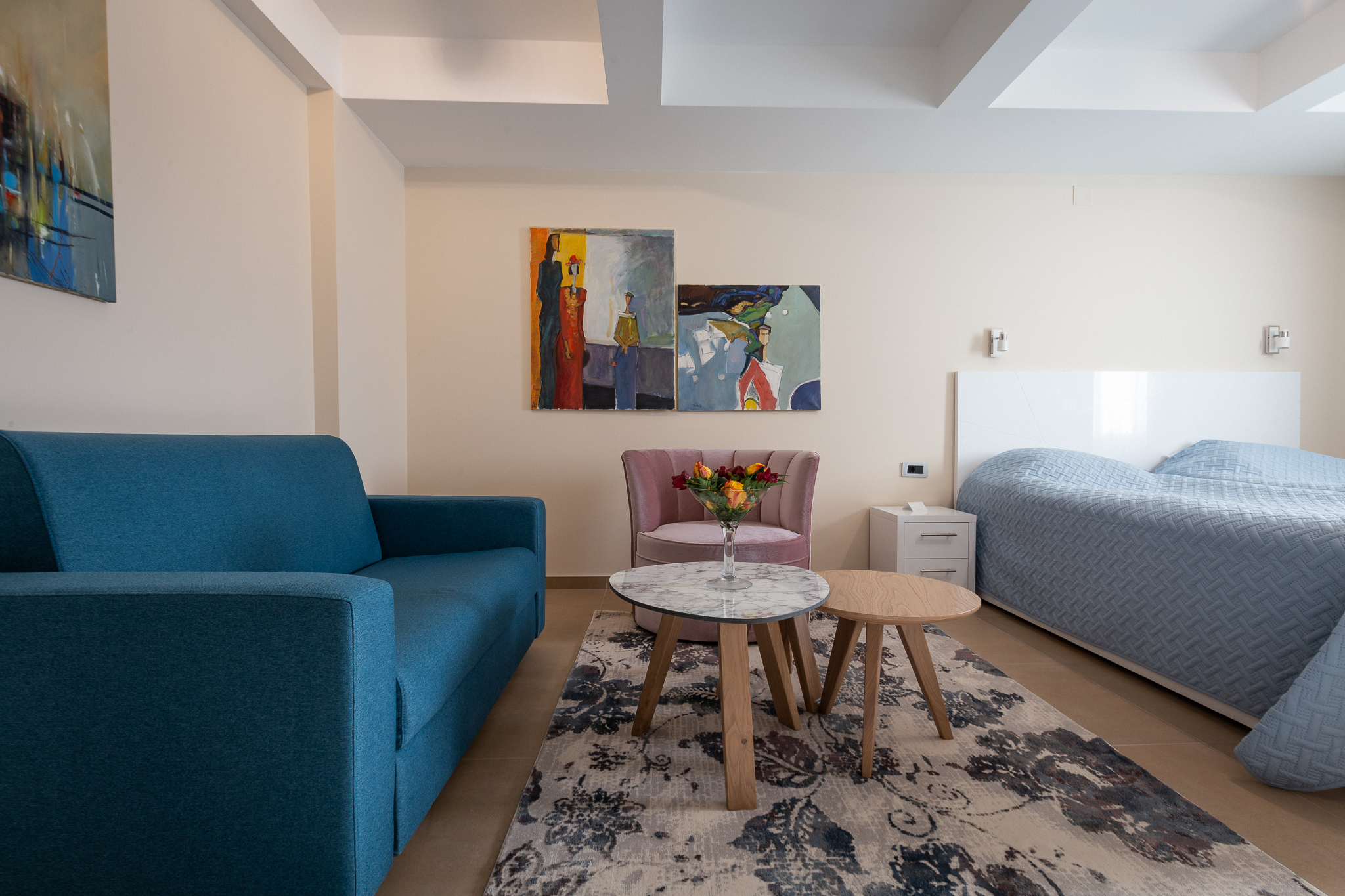 2nd Floor Double Room – Two Beds